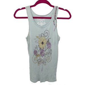 new Project e Vintage ❃ Floral Graphic Tank ❃
